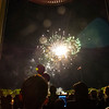 August 2012 - The Welcome Candle-lighting ceremony always dazzles with its fireworks display. Photographer: Mark Schmidt